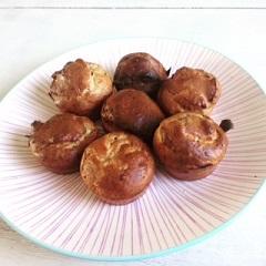 Banaan - pindakaas muffins
