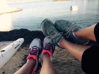 hardlopen en gewicht